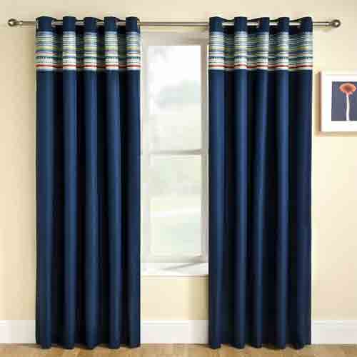 solid_patterned_curtains_for_door